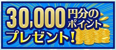 舟生(フナナマ)30000円プレゼント