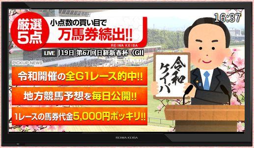 令和ケイバ_テレビ風