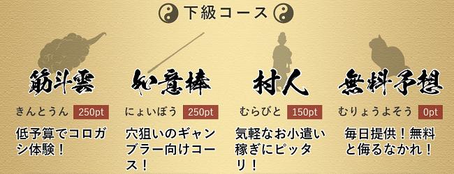 舟遊記_下級プラン